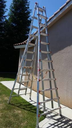 Photo Ladder 21 ft Little Giant hybrid MXZ 21 - $800 (Fresno)