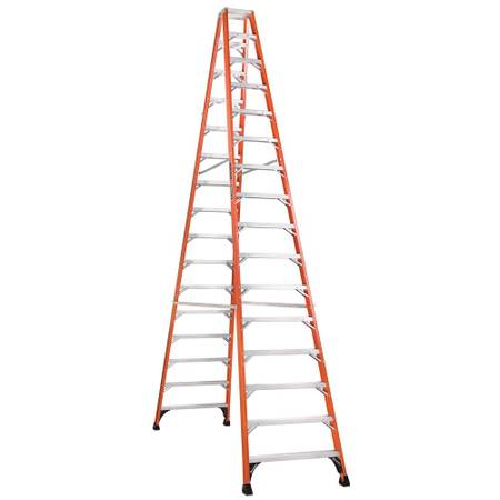 Photo Ladders, 16 ft TWIN step type 300 lb rating (2) - $500 (Fresno)