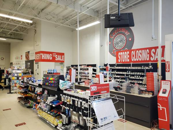 Photo Office Depot - this location Only- is CLOSING (2200 W. Cleveland Madera)
