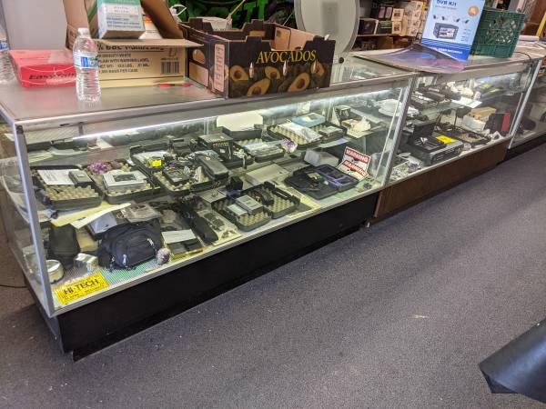 Photo Retail Store Closing IBM Selectric Typewriter, Glass Showcasses, - $149 (Fresno)