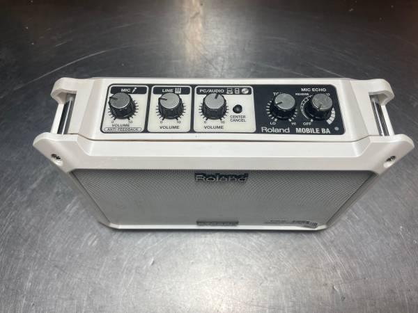 Photo Roland Mobile-BA Battery Power Portable Stereo Speaker - $149 (Fresno)