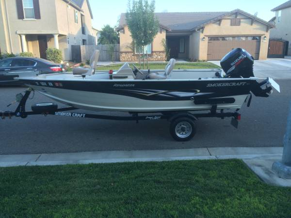 Sold Thank You Craigslist Smoker Craft Aluminum Fishing Boat 1 Boats For Sale Fresno Ca Shoppok