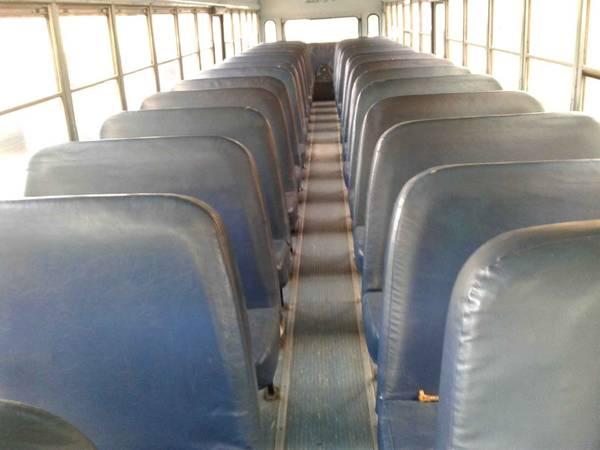 Photo School bus seats (Sanger)