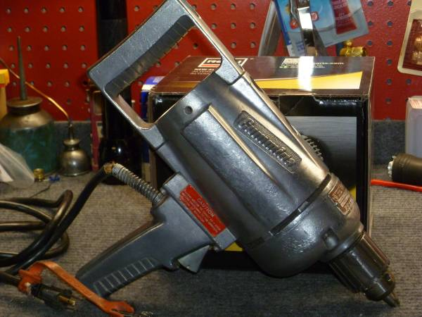 Photo VINTAGE  ANTIQUE JOHN OSTER CUMMINS 12quot REVERSIBLE DRILL - $50 (Fresno)