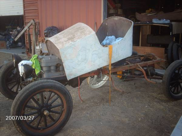 Photo ford model t  A (SangerSANGER)