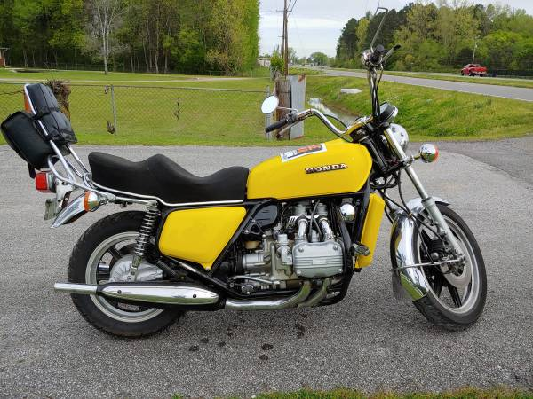 Photo 1976 Honda Goldwing GL1000 Reduced $1000 0405 - $2,995 (Decatur)