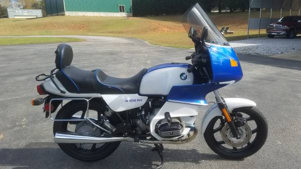 Photo 1988 BMW R100RS - $6,000 (Cleveland)