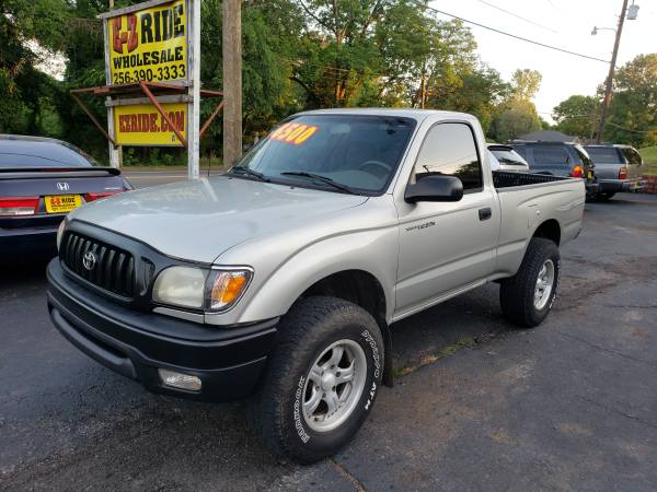 Photo 2001 Toyota Tacoma Pick Up Truck - $1 (EZRIDE.COM)