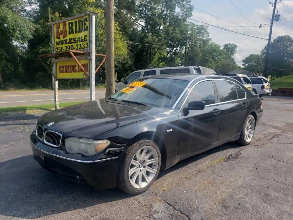 Photo 2004 BMW 745Li For Sale Sunroof 138k $2000 Down - $1 (EZRIDE.COM)