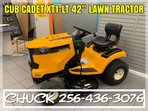 Photo 2020 Cub Cadet XT1 LT42quot Lawn Tractor FINANCING AVAILABLE - $1599 (TUSCUMBIA)