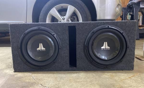 Photo 2 10 jl audio subs - $200 (Gadsden)