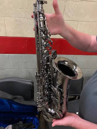 Photo Cannonball Stone Big Bell A5 Raven Finish Alto Saxaphone - $1,900 (Birmingham)