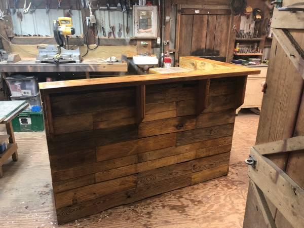 Photo Custom Crate Bar - $800 (Locust Fork)