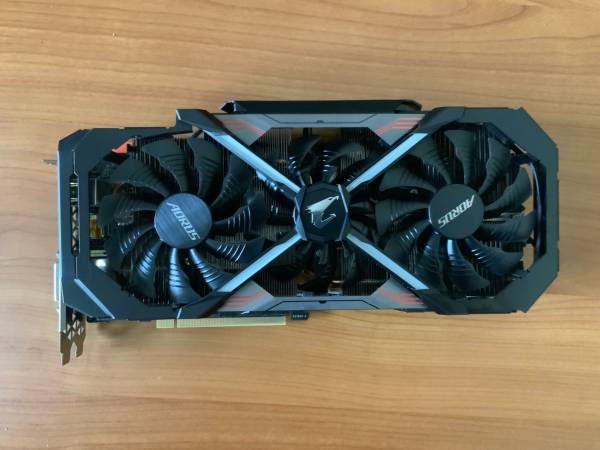 Photo GIGABYTE AORUS GeForce GTX 1080 Ti GV-N108TAORUS - $680 (Johns creek)
