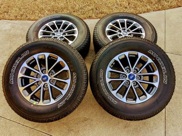 Photo NEW 2020 Ford F150 18quot Wheels and NEW Michelin Tires SENSORS - $795 (Gadsden)