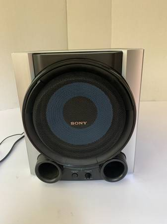 Photo Nice Sony SA-WG99 Active Subwoofer Powered Speaker 115 W - $60 (lawrenceville)