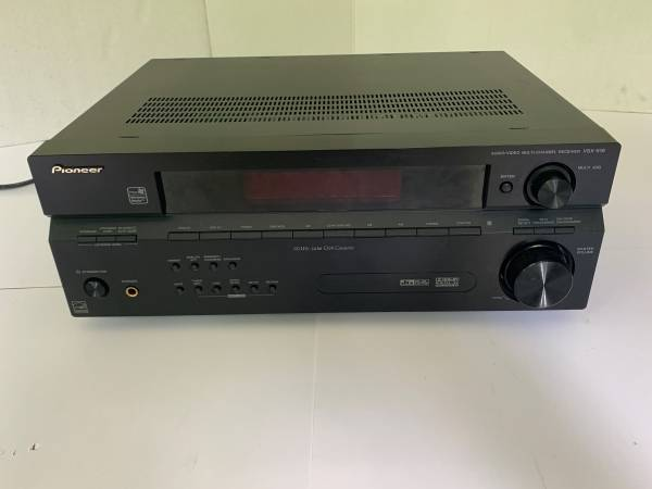 Photo Really Nice Pioneer VSX-516 7.1 100 Watt Home Theater  Receiver - $85 (lawrenceville)