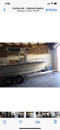 Photo Sea bass center console fishing boat - $13,000 (Cumming)
