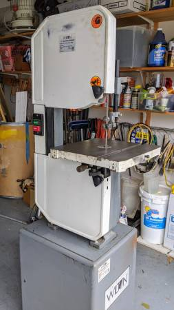 Photo Wilton 8201 14-inch Metal and Wood Cutting Bandsaw - $650 (Albertville)