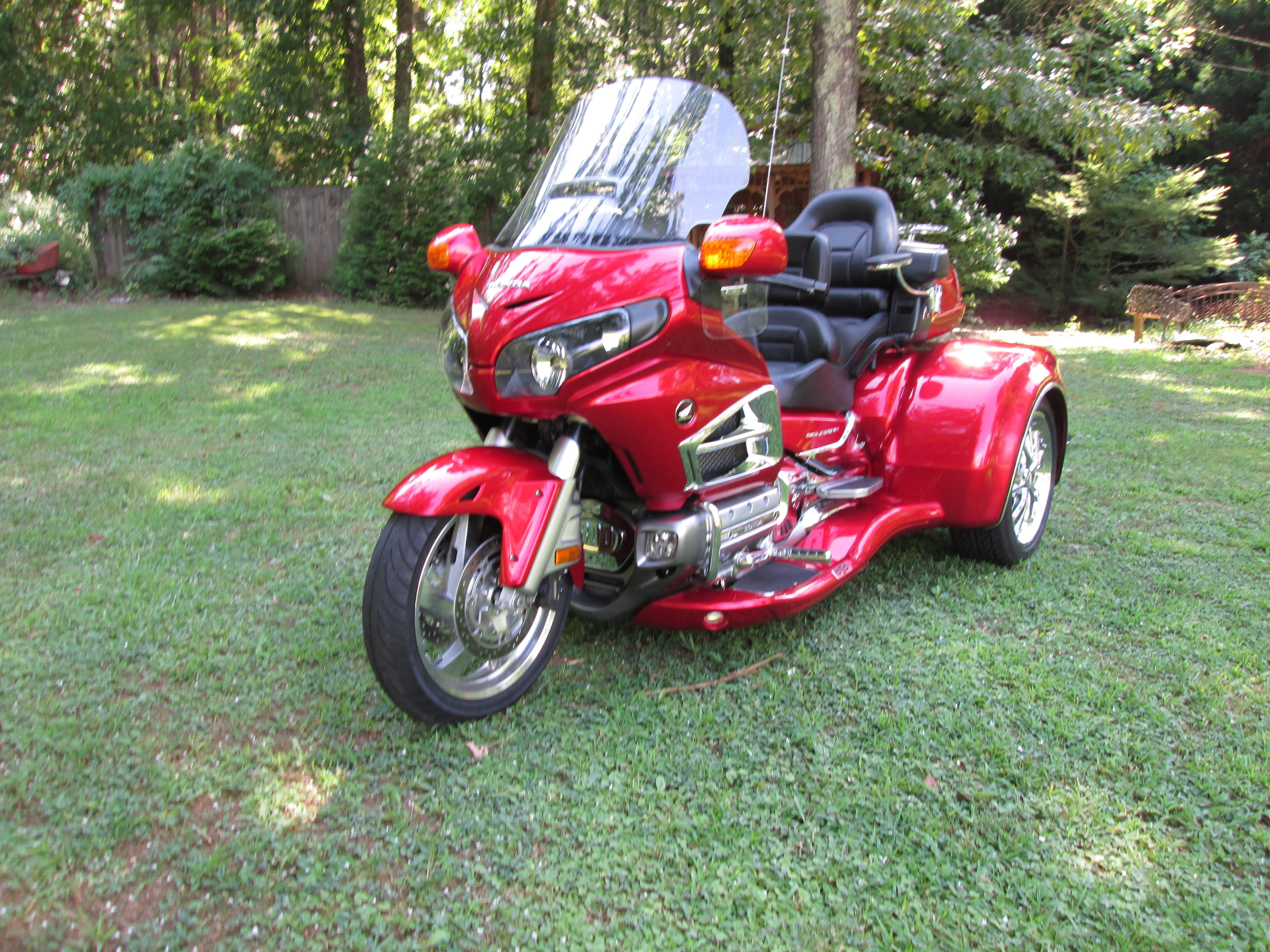 Photo 2014 Honda Goldwing Gl1800 California Sidecar Viper Trike Kit $28500
