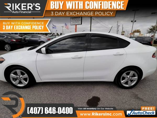 Photo $105mo - 2016 Dodge Dart SXT - 100 Approved - $105 (Rikers Auto Financial)
