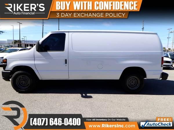 Photo $115mo - 2012 Ford E250 E 250 E-250 Commercial Cargo Van - 100 Approv - $115 (Rikers Auto Financial)