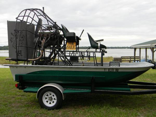 Photo 13 ft Rivermaster Air Boat and trailer - $16,500 (Alachua, Fl.)