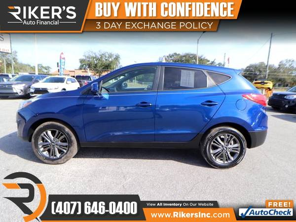 Photo $145mo - 2014 Hyundai Tucson GLS - 100 Approved - $145 (Rikers Auto Financial)