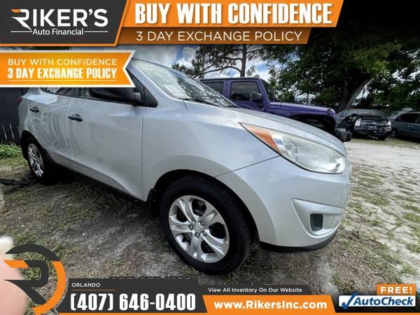 Photo $153mo - 2013 Hyundai Tucson GL - 100 Approved - $153 (7202 E Colonial Dr, Orlando FL, 32807)