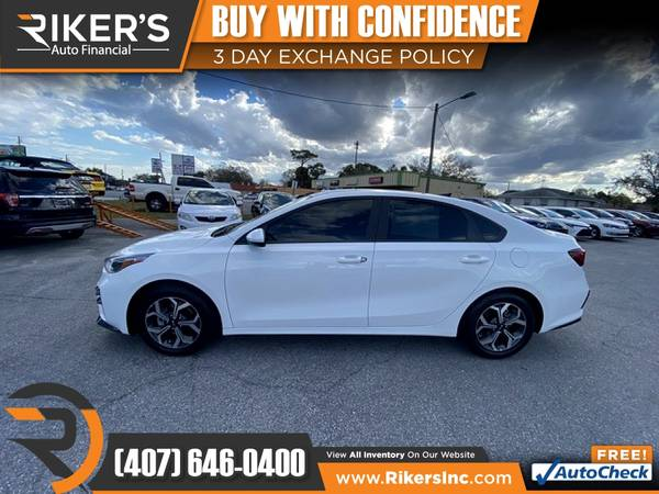 Photo $159mo - 2019 KIA Forte LXS - 100 Approved - $159 (Rikers Auto Financial)