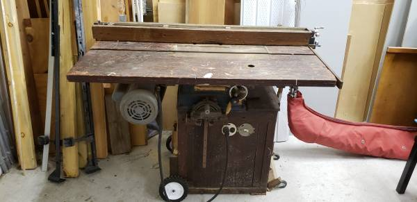 Photo 194039s Craftsman 8quot Table Saw - $300 (Melrose)