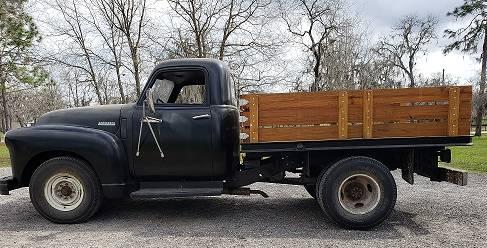 Photo 1949 Chevy 1 ton Load Master - $7000 (morriston)