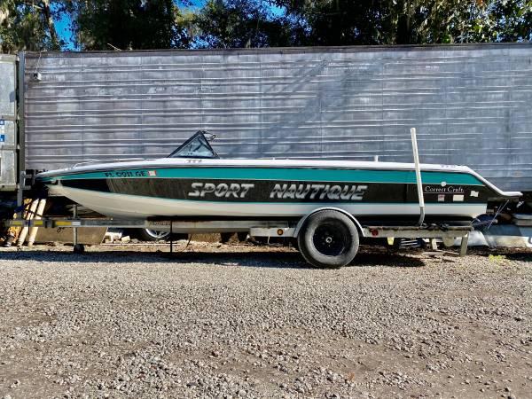 Photo 1992 Correct Craft Sport Nautique 2139 Open Bow - $7,500 (Melrose)
