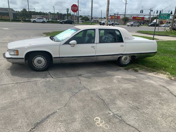 Photo 1993 Cadillac Fleetwood Brougham - $7,500 (Palatka)