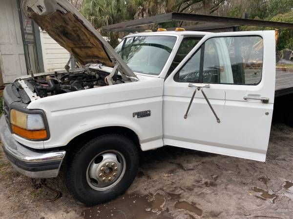 Photo 1997 Ford F350 dually pickup diesel (Gainesville)