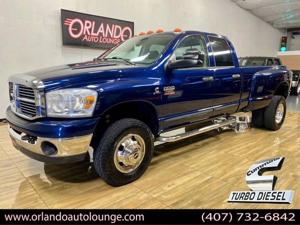 Photo 2007 Dodge Ram 3500 Quad Cab SLT Pickup 4D 8 ft 4WD - $25,495 (Sanford)