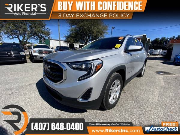 Photo $200mo - 2018 GMC Terrain SLE - 100 Approved - $200 (Rikers Auto Financial)