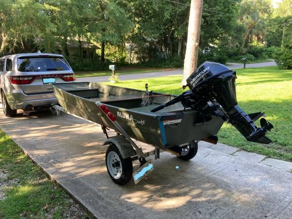 Photo 2017 12 ft Alumacraft w 9.9hp Mercury, Trailer,  Accessories - $3,499 (Gainesville)