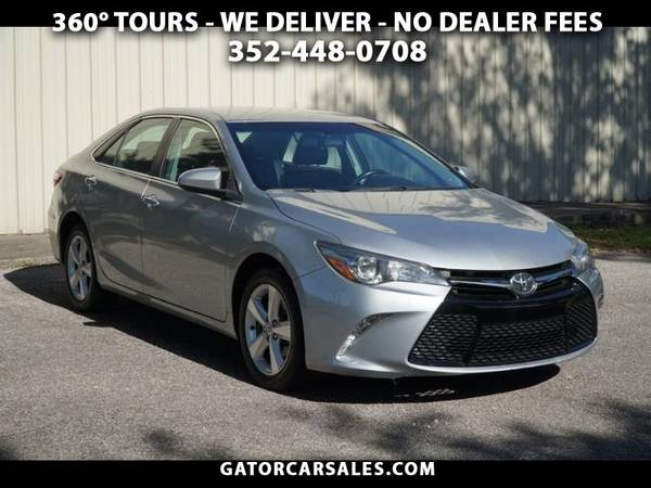 Photo 2017 Toyota Camry SE VIRTUAL TOUR AVAILABLE-MINT COND. Clean History - $15,900 (2120 N Main St Gainesville, FL 32609)