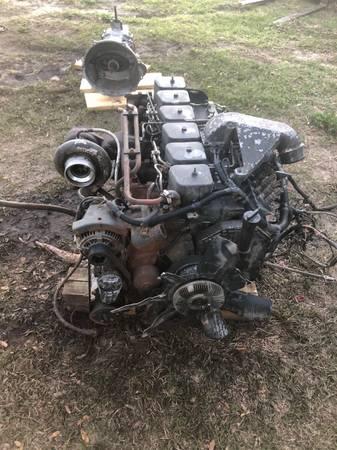 Photo 215hp 12 valve Cummins turbo diesel p pump p7100 - $4,200 (High Springs)
