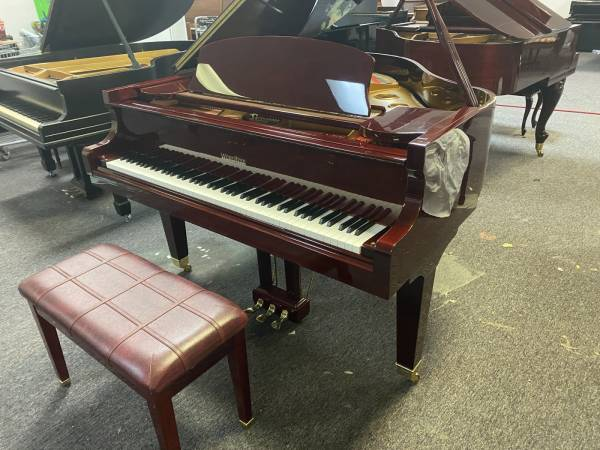 Photo AS-NEW WURLITZER BABY GRAND PIANO FREE DELIVERY AND TUNING - $4,350 (Atlanta  Free Delivery)