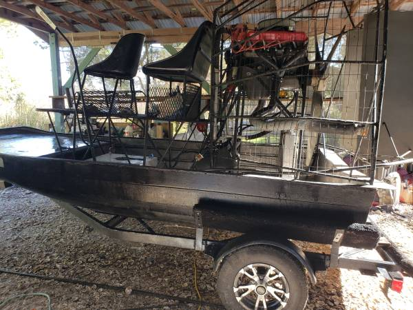 Photo Airboat with 472 - $7000 (Cedar Key)