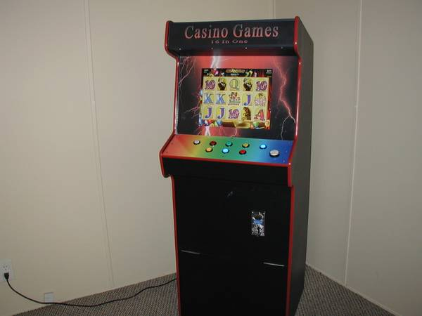 Photo All New Cabaret Size  16 Game Video Slots Game Arcade machine - $1,050 (Ocala)