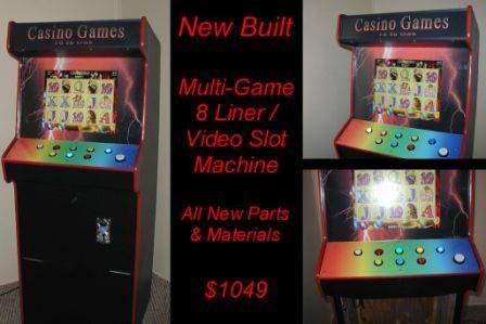 Photo All New Cabaret Size  16 Game Video Slots Game Arcade machine - $1,050 (60 Game Machines $950)