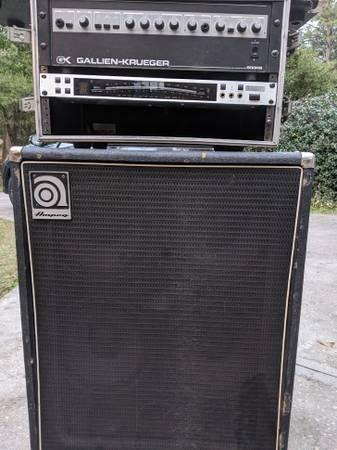 Photo Bass Half Stack (Ampeg Cab, GK Head) - $1200 (Gainesville, FL)
