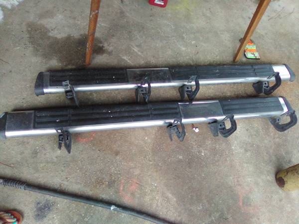 Photo Chevy running boards - $100 (Old town)