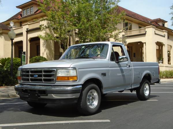 Photo FORD XLT F150 2dr Pickup 1996 - $9,885 (Gainesville)