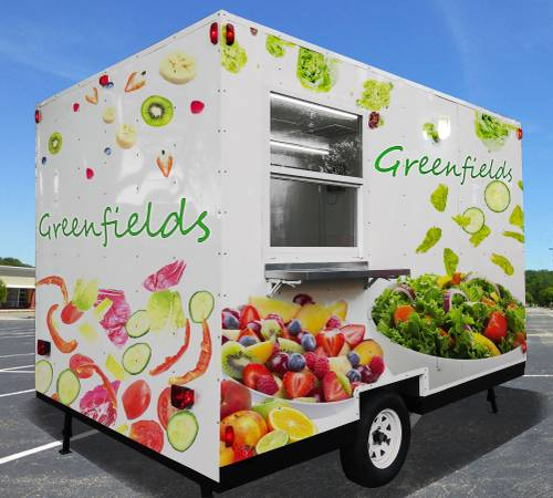 Photo Food Trailer Trailers  Food Truck Trucks  Concession  8x12 trailer - $9799 (Florida)