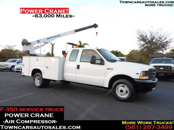Photo Ford F350 Extended Cab POWER CRANE Mechanics Truck SERVICE BODY TRUCK - $21,000 (Towncarsautosales.com, Service Truck)