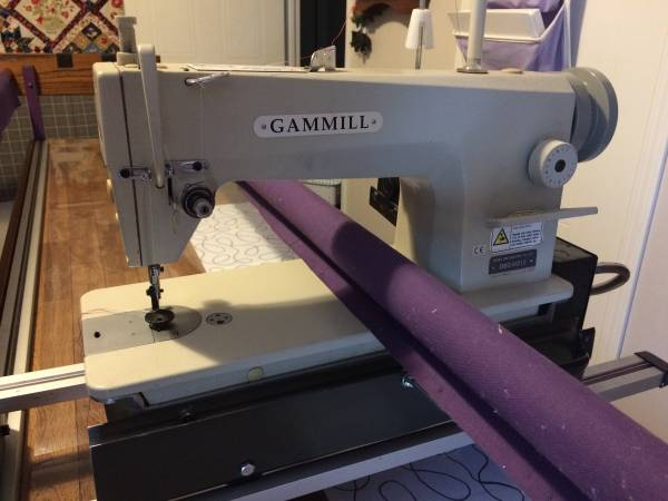 Photo Gammill short arm quilting machine - $1500 (Lake Butler)